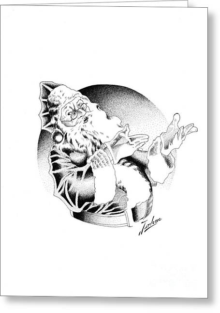 Valuable Greeting Cards - Santa Klaus Greeting Card by Joker  Gallery