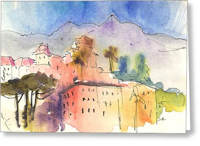 Santa Margherita In Italy 01 Greeting Card by Miki De Goodaboom