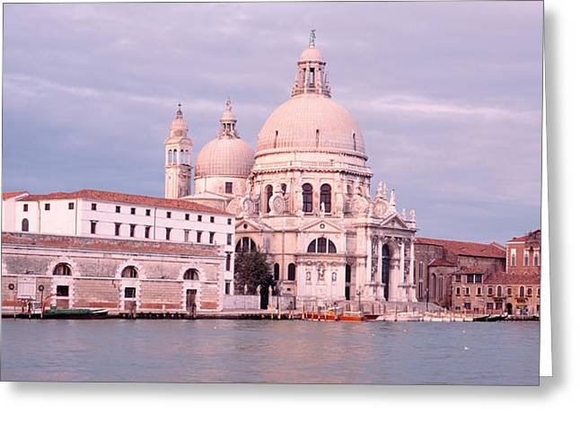 Santa Maria Della Salute Greeting Cards - Santa Maria Della Salute Grand Canal Greeting Card by Panoramic Images
