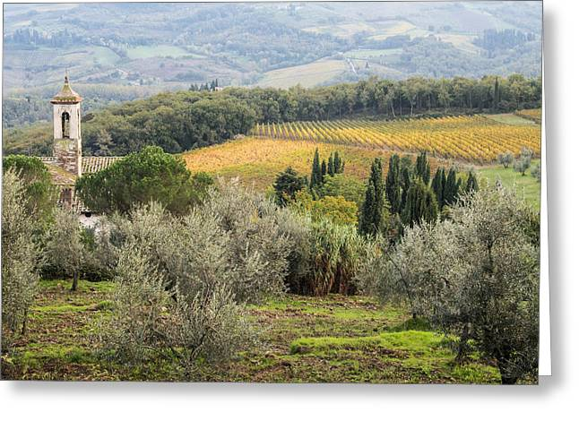 Radda In Chianti Greeting Cards - Santa Maria Novella Greeting Card by Eggers   Photography