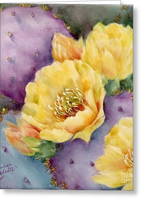 Summer Celeste Greeting Cards - Santa Rita in Bloom Greeting Card by Summer Celeste