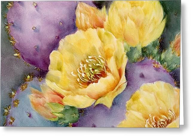 Santa Rita in Bloom Greeting Card by Summer Celeste