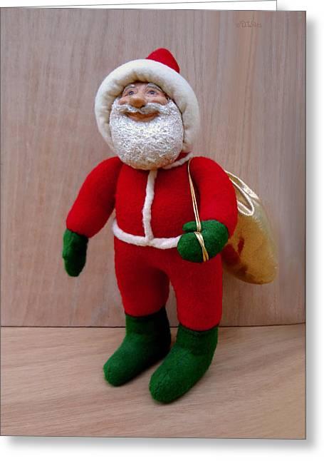 Santa Sr. - Merry Christmas Greeting Card by David Wiles