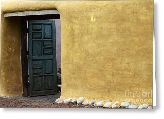 Entryway Greeting Cards - Sante Fe Entryway Greeting Card by Bob Christopher