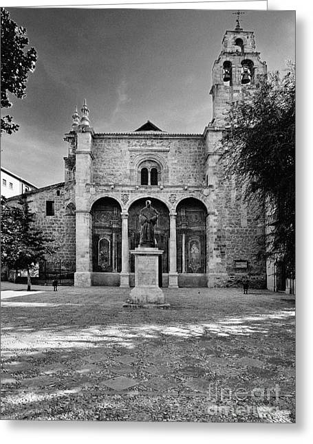 Domingo Greeting Cards - Santo Domingo Church Greeting Card by Guido Montanes Castillo