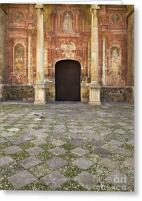 Santo Domingo Church In Granada Greeting Card by Guido Montanes Castillo