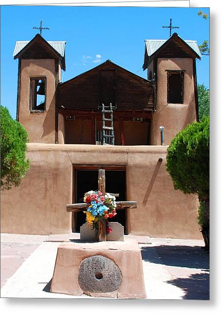 Holy Week Greeting Cards - Santuario de Chimayo 2 Greeting Card by Dany  Lison