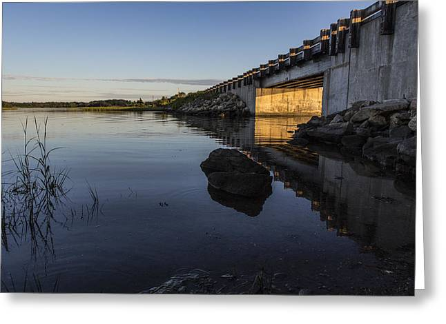 Sapowet Salt Marsh Greeting Card by Andrew Pacheco