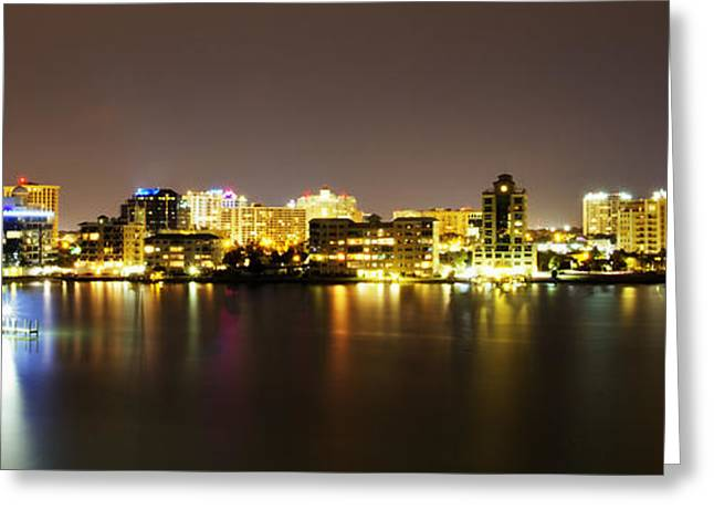 Nicholas Greeting Cards - Sarasota Bay Greeting Card by Nicholas Evans