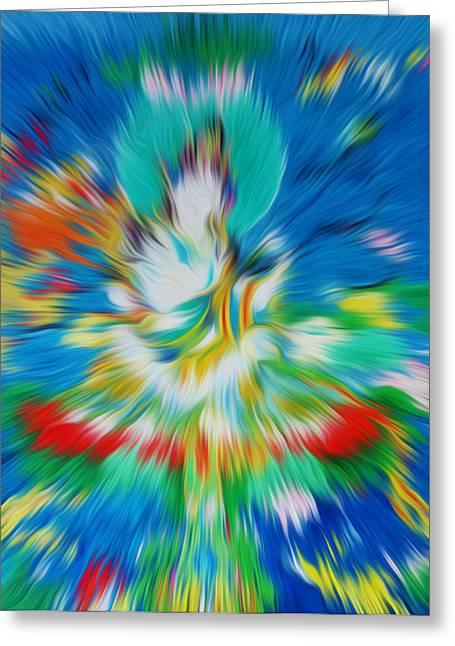 Full Of Wisdom Greeting Cards - Saraswati 1 Greeting Card by Lanjee Chee