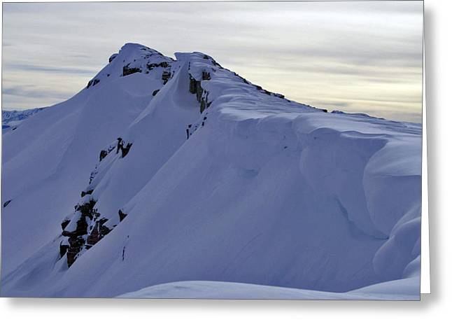 Snow Cornice Greeting Cards - Saturday Hangover Greeting Card by Jeremy Rhoades