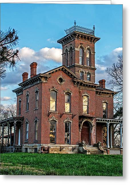 Recently Sold -  - Historic Architecture Greeting Cards - Sauer Castle Greeting Card by Kevin Anderson