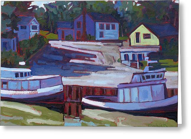 Canadian Greeting Cards - Saugeen Fleet Greeting Card by Phil Chadwick
