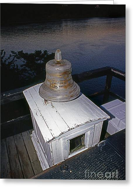 Saugerties Greeting Cards - Saugerties Bell Greeting Card by Skip Willits