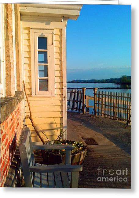 Saugerties Greeting Cards - Saugerties Lighthouse Greeting Card by Beth Ferris Sale