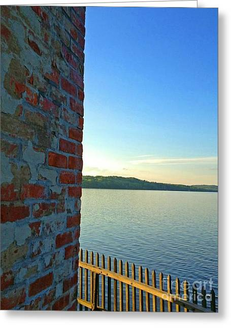 Saugerties Greeting Cards - Saugerties Lighthouse On Hudson Greeting Card by Beth Ferris Sale