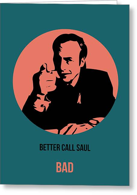 Breaking Bad Greeting Cards - Saul Poster 2 Greeting Card by Naxart Studio