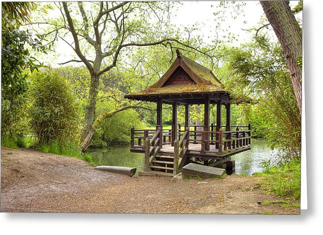 Guernsey Greeting Cards - Saumarez Park - Guernsey Greeting Card by Joana Kruse