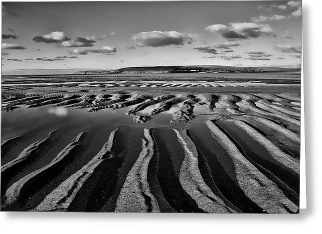 North Sea Greeting Cards - Saunton Sands Devon Greeting Card by Pete Hemington