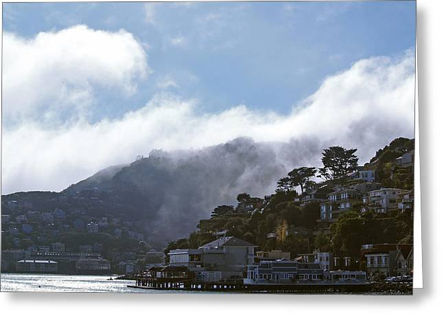 Sausalito Greeting Cards - Sausalito- California Greeting Card by Haleh Mahbod