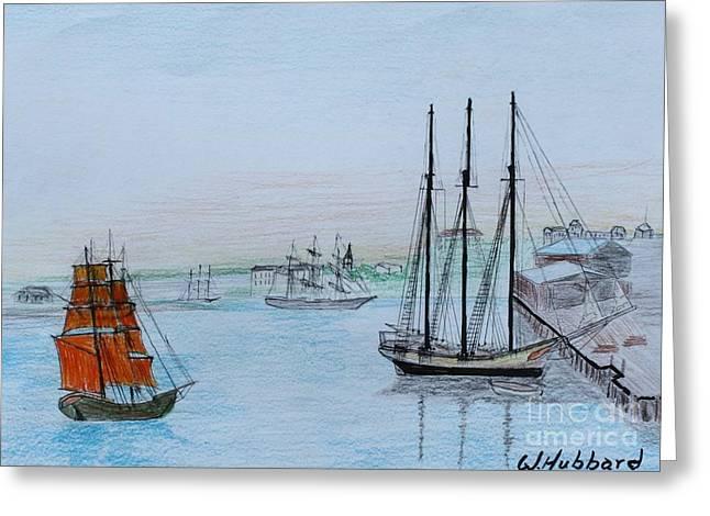 Bill Hubbard Greeting Cards - Savannah 1777 Greeting Card by Bill Hubbard