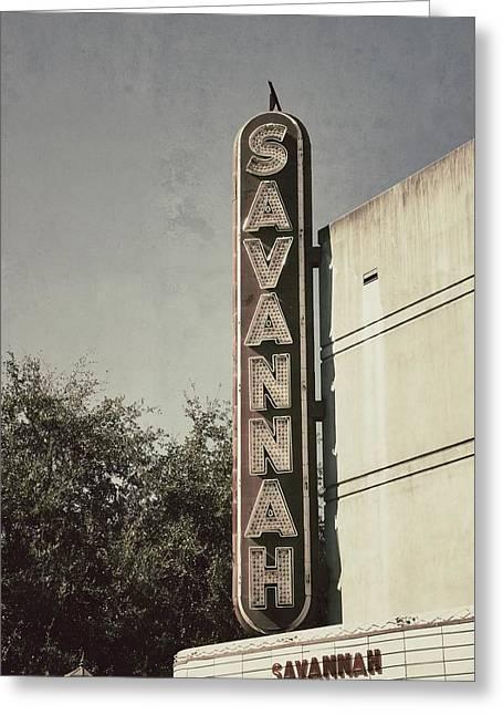 Movie Art Photographs Greeting Cards - Savannah Greeting Card by Brandon Addis