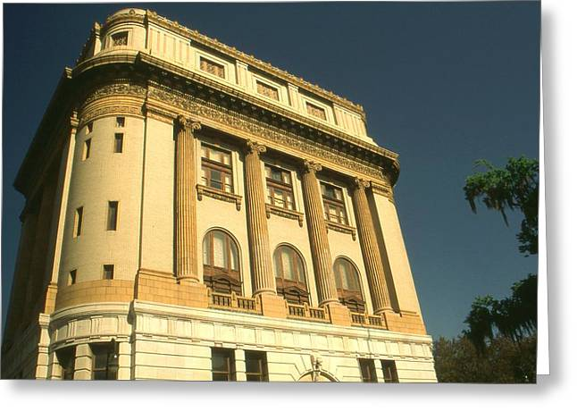 Top Seller Greeting Cards - Savannah Classic Architecture - Color Photo Greeting Card by Peter Fine Art Gallery  - Paintings Photos Digital Art