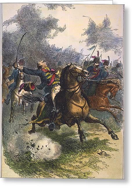 Patriotic Savannah Greeting Cards - Savannah: Pulaski, 1779 Greeting Card by Granger