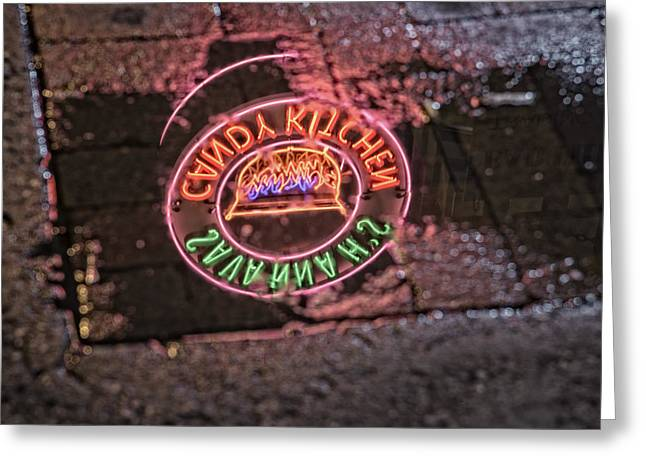 Nashville Tennessee Greeting Cards - Savannahs Candy Kitchen Greeting Card by Rick Berk