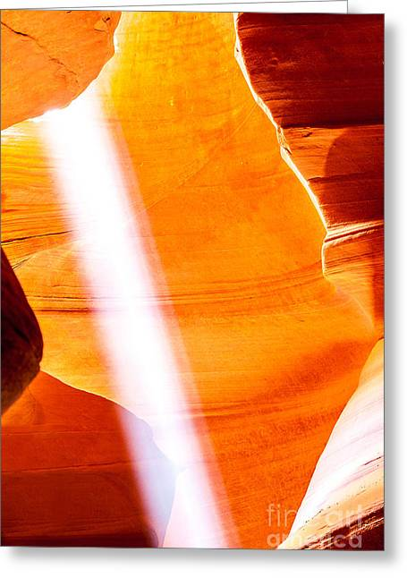 Labyrinth Greeting Cards - Savior Greeting Card by Az Jackson