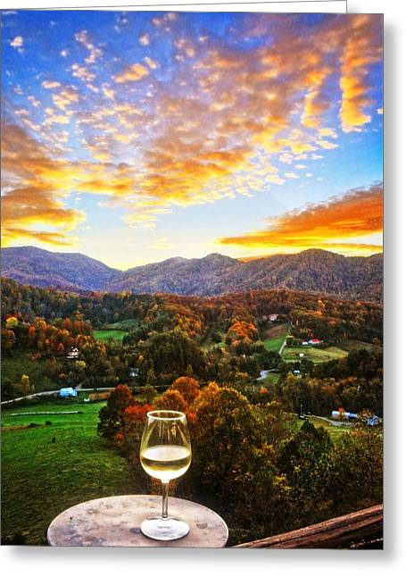 Blue Ridge Parkway In Fall Greeting Cards - Savor the Moment Greeting Card by Lynn Bauer