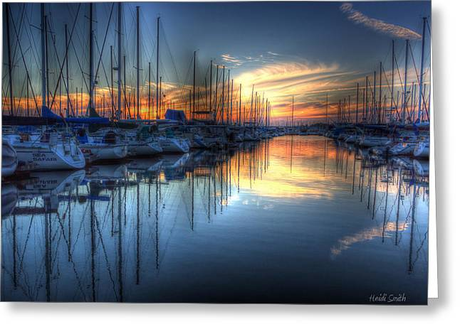 California Ocean Photography Greeting Cards - Savoring Life Greeting Card by Heidi Smith