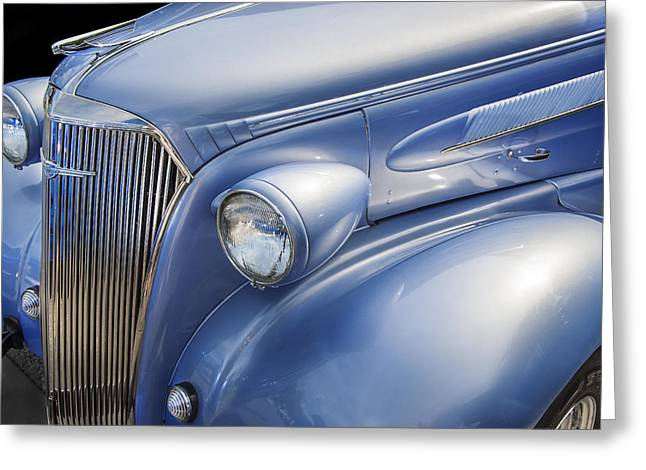 1937 Chevy Greeting Cards - SaWeet Chevy 1937 Chevrolet Greeting Card by Rich Franco