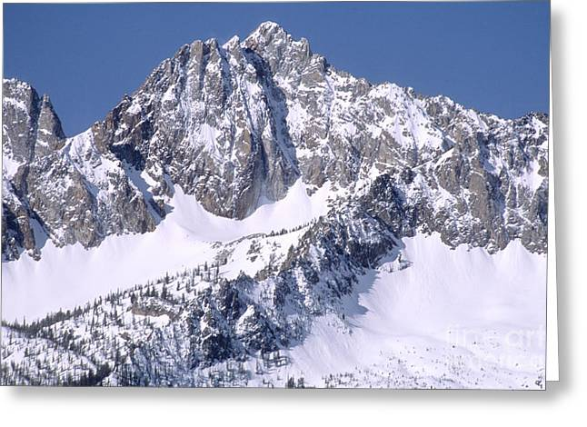 Idaho Scenery Greeting Cards - Sawtooth Mountains, Id Greeting Card by William H. Mullins