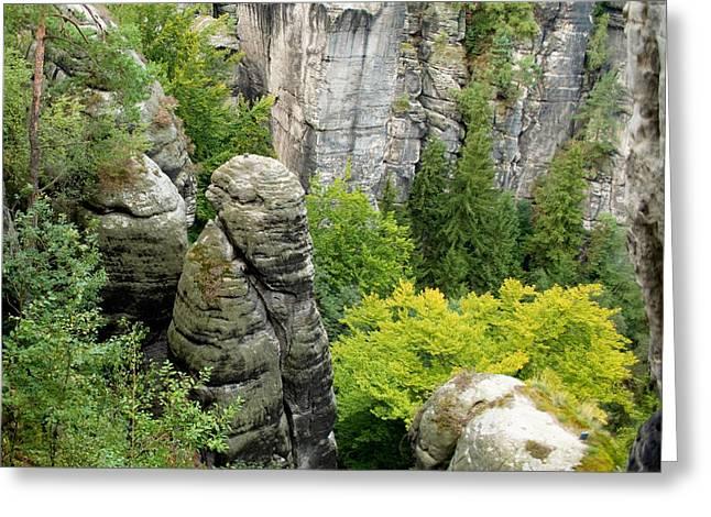 Saxon Switzerland Nature. Greeting Card by Iryna Soltyska