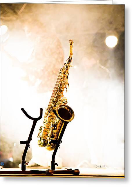 Saxophone  Greeting Card by Bob Orsillo