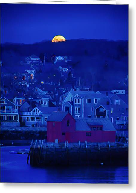 Shack Greeting Cards - Say goodbye to night Greeting Card by Jeff Folger