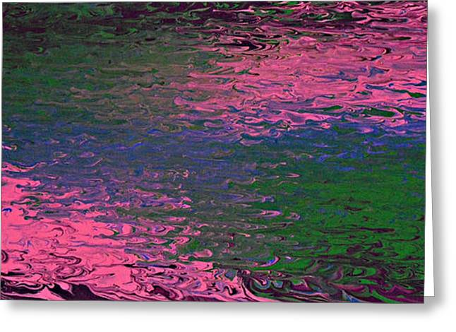 Abstract Digital Paintings Greeting Cards - Say My Name Greeting Card by Cyryn Fyrcyd