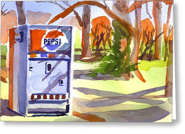 Promotional Greeting Cards - Say Pepsi Please Greeting Card by Kip DeVore