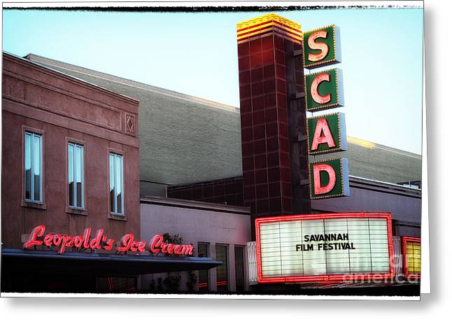 Southern Design Greeting Cards - Scad Greeting Card by John Rizzuto