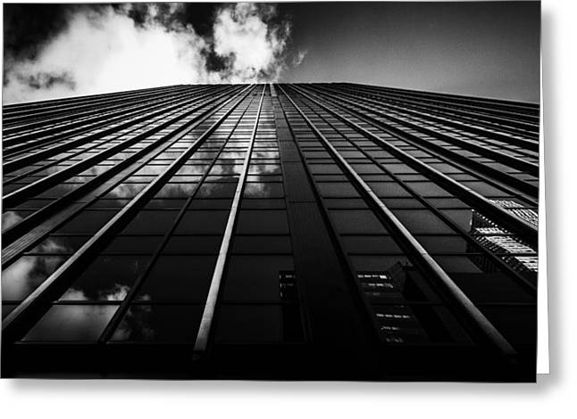 Midtown Greeting Cards - Scale Greeting Card by Johnny Lam
