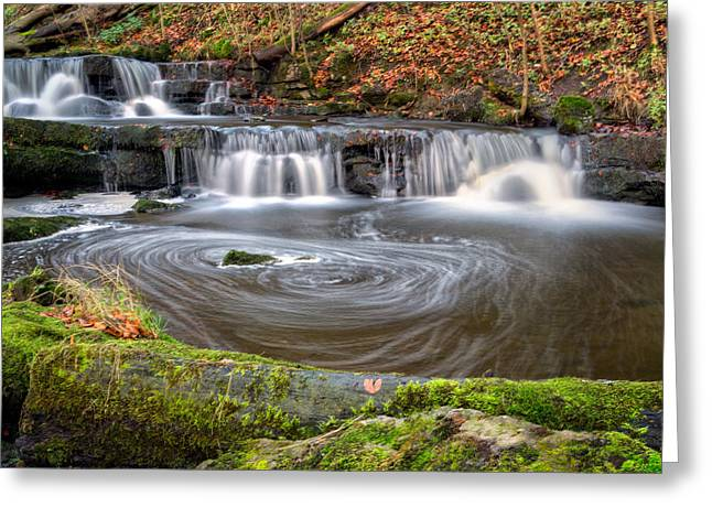 Scaleber Force Eddy Greeting Card by Chris Frost
