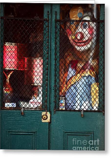 Scary Orleans Greeting Card by John Rizzuto