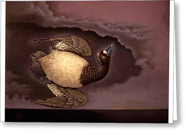 Scaup Bluebill Greeting Card by Philip Slagter