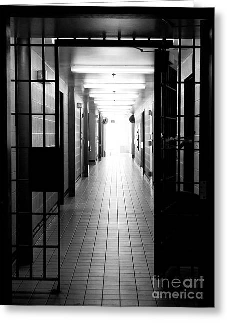 Kingston Greeting Cards - Scenes from Kingston Penitentiary - 5 Greeting Card by Rebecca Gullett