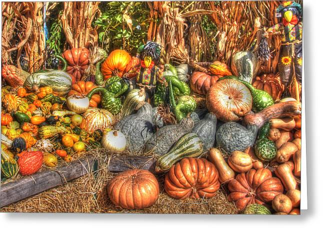 Fall Scenes Greeting Cards - Scenes of the Season Greeting Card by Joann Vitali
