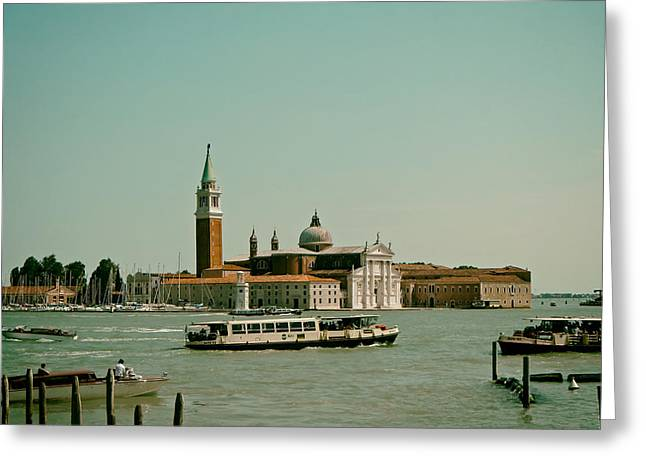 Venice Tour Greeting Cards - Scenes of Venice Greeting Card by Mountain Dreams
