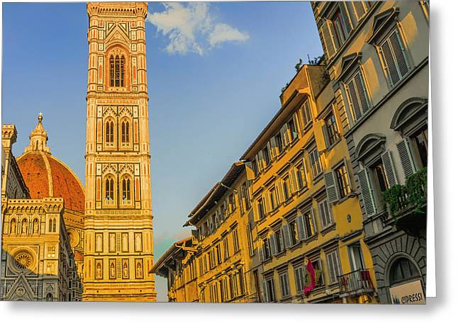 Florence Greeting Cards - Scenic Florence Greeting Card by Mountain Dreams