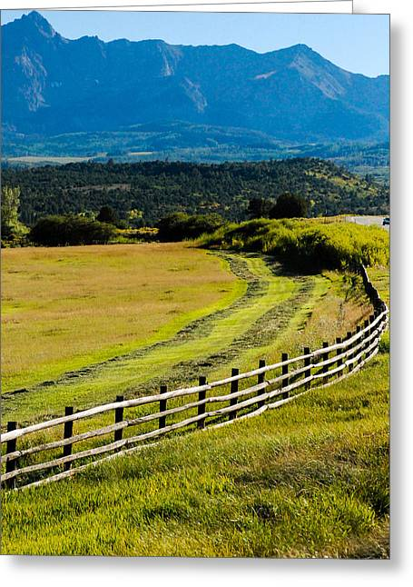 Geobob Greeting Cards - Scenic Highway 62 Ridgway Colorado Greeting Card by Robert Ford