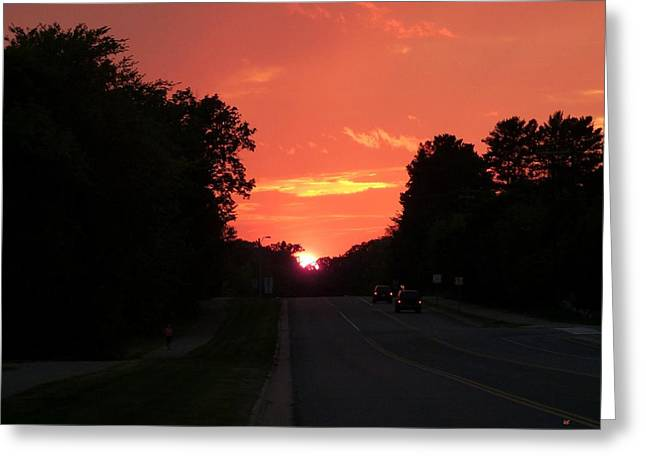 Jogger Greeting Cards - Scenic Minnesota 2 Greeting Card by Will Borden